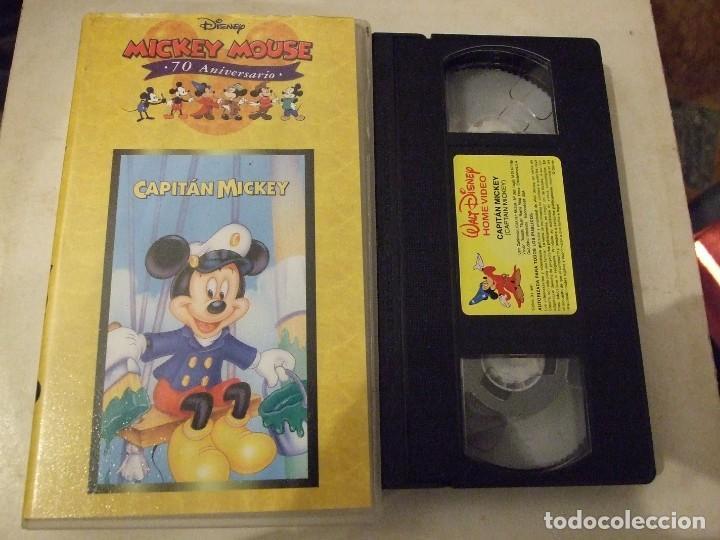 CAPITAN MICKEY - WALT DISNEY 70 ANIVERSARIO (Cine - Películas - VHS)