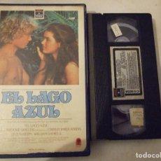 Cine: EL LAGO AZUL - RANDAL KLEISER - BROOKE SHIELD , CHRISTOPHER ATKINS - RCA CIC 1982. Lote 183598458
