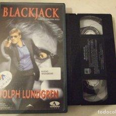 Cine: BLACKJACK - JOHN WOO - DOLPH LUNDGREN , KATE VERNON - FOX 1998. Lote 183599272