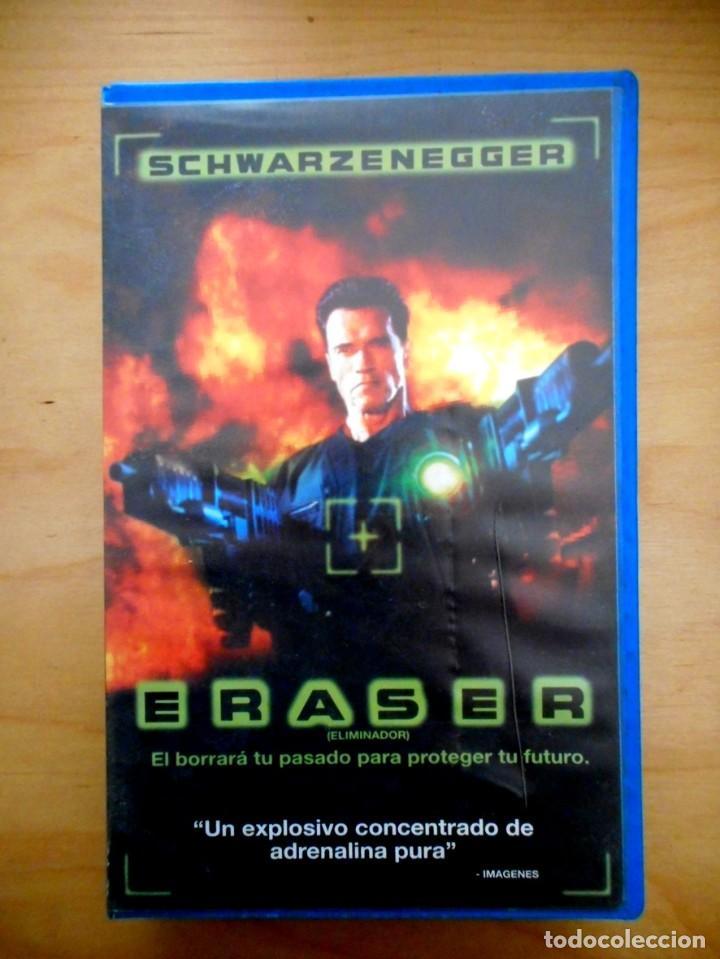 Eraser 1996 Vhs Buy Vhs Movies At Todocoleccion 184135881