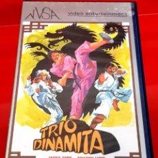 Cine: TRIO DINAMITA (1982) - ARTES MARCIALES. Lote 184231083