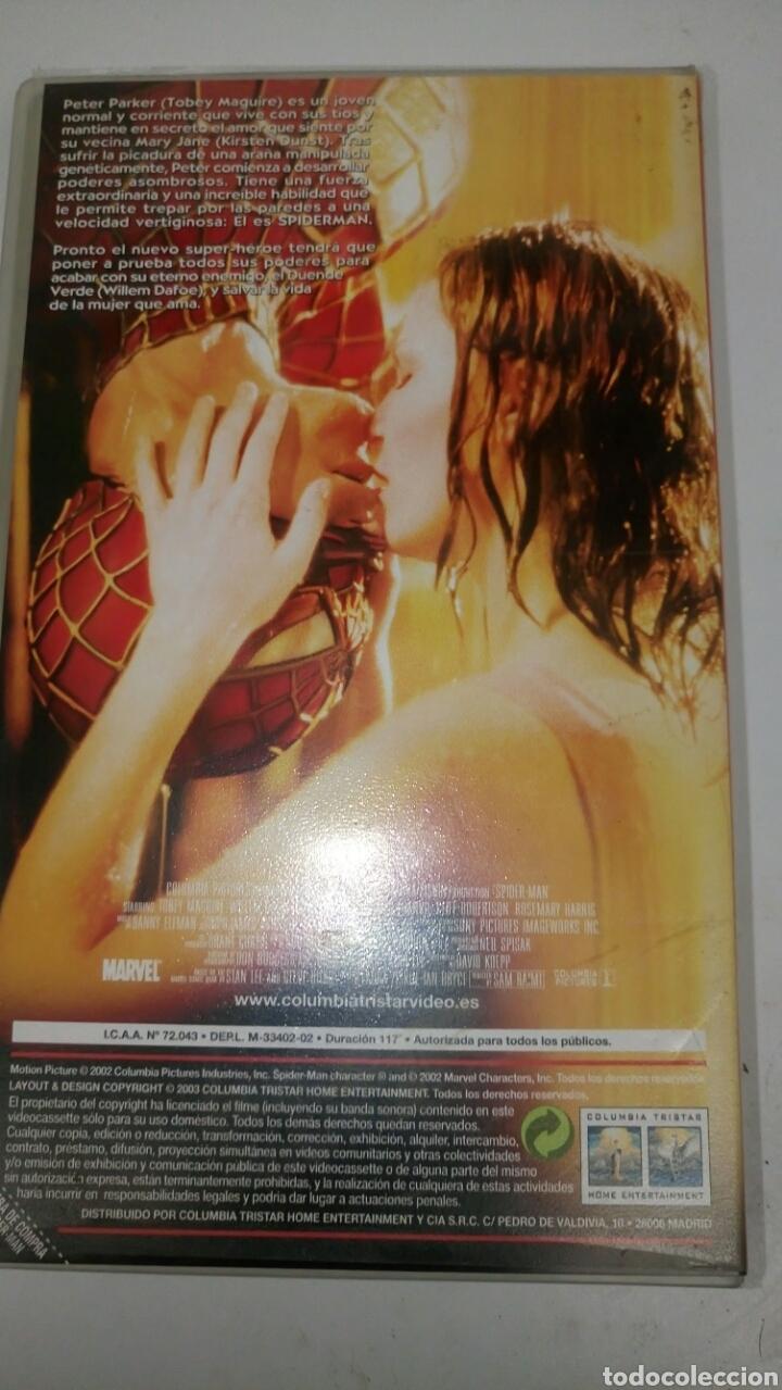 Cine: VHS, SPIDERMAN (2002), de Sam Raimi, con Tobey Maguire. - Foto 2 - 184264508