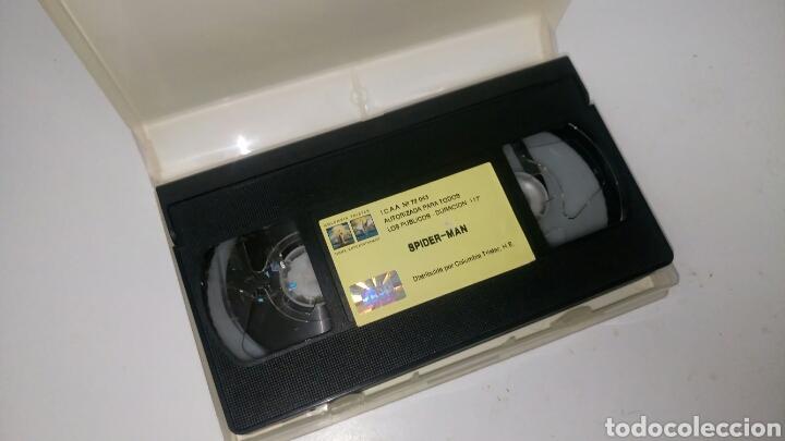 Cine: VHS, SPIDERMAN (2002), de Sam Raimi, con Tobey Maguire. - Foto 4 - 184264508