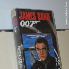Cine: JAMES BOND 007 OPERACION TRUENO SEAN CONNERY - VIDEO VHS. Lote 184391392