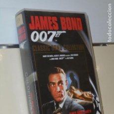 Cine: JAMES BOND 007 GOLDFINGER SEAN CONNERY - VIDEO VHS. Lote 184391448