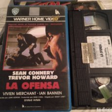 Cine: LA OFENSA- SEAN CONNERY- VHS- 1ª EDICION. Lote 184788991