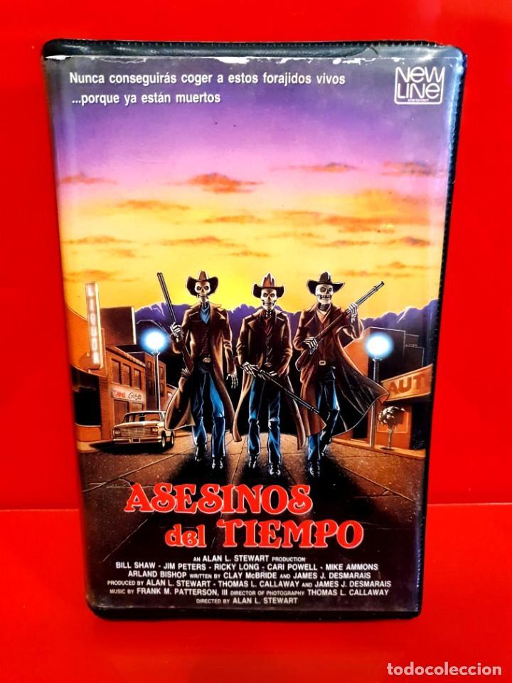 ASESINOS DEL TIEMPO - TERROR NEWLINE IVS (Cine - Películas - VHS)