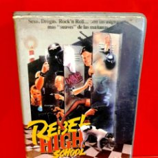 Cine: REBEL HIGH SCHOOL (1987) - HARRY JAKOBS, WAYNE FLEMMING . Lote 184813277