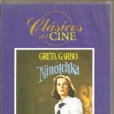 Cine: NINOTCHKA. GRETA GARBO. VHS. Lote 184834471