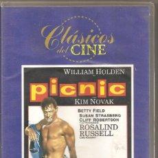 Cine: PICNIC. KIM NOVAK. VHS. Lote 184834688