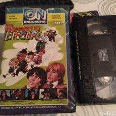 Cinéma: LAS AVENTURAS DE ZIPI Y ZAPE- VHS- ENRIQUE GUEVARA- IMAGEN REAL CALIDAD ACEPTABLE SCATALOGADA. Lote 184895041