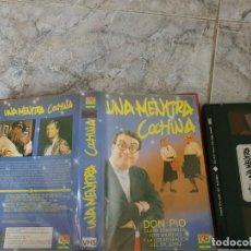 Cinéma: VHS- UNA MENTIRA COCHINA - DON PIO. Lote 185289711
