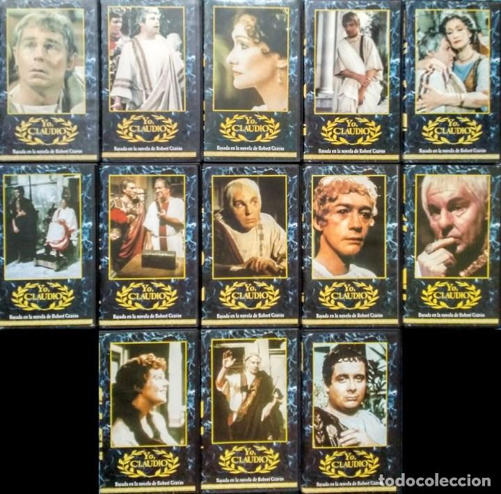 SERIE COMPLETA ''YO, CLAUDIO'' (VHS) (Cine - Películas - VHS)