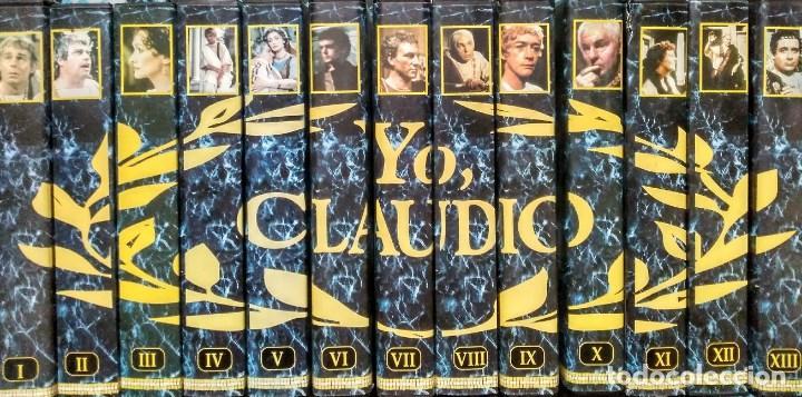Cine: Serie completa ''Yo, Claudio'' (VHS) - Foto 2 - 185659340