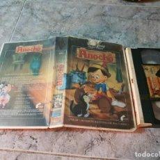 Cine: VHS - PINOCHO - 1 EDIC FILMAYER - UNICA E INENCONTRABLE - LA MAS DIFICIL. Lote 185714783