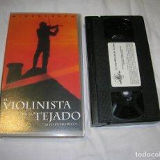Cine: PELICULA EN VIDEO EL VIOLINISTA EN EL TEJADO. Lote 185970772