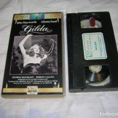 Cine: PELICULA GILDA EN VIDEO. Lote 185971526