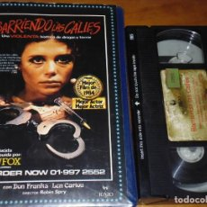 Cine: BARRIENDO LAS CALLES - DON FRANKS, LEN CARIOU, ROBIN SPRY - VHS. Lote 185977735