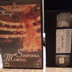 Cine: SINFONIA MORTAL VHS - PRODUCCION DE ROGER CORMAN UNICA EN TODOCOLECCION. Lote 186269631