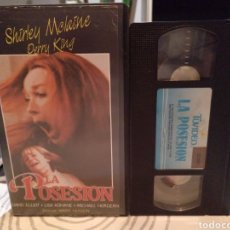 Cine: VHS- LA POSESION - SHIRLEY MCLAINE,PERRY KING / WARRIS HUSSEIN. Lote 186272163