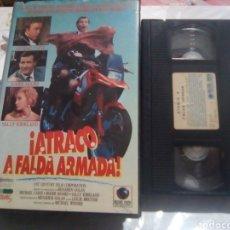 Cinéma: VHS - ATRACO A FALDA ARMADA - MICHAEL WINNER - MICHAEL CAINE , ROGER MOORE - RECORD 1991. Lote 186340910