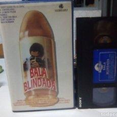 Cine: BALA BLINDADA- VHS -JOHN SCOTT. Lote 186344411