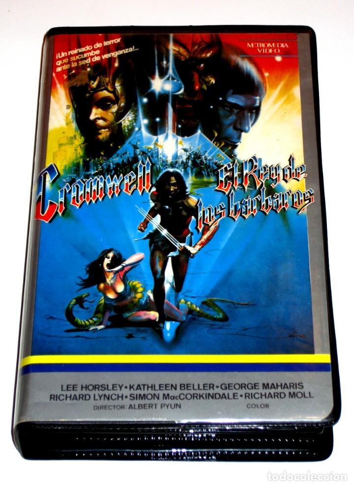 CROMWELL EL REY DE LOS BARBAROS (1982) - ALBERT PYUN LEE HORSLEY KATHLEEN BELLER VHS (Cine - Películas - VHS)