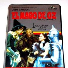 Cine: EL MAGO DE OZ (1939) - VICTOR FLEMING JUDY GARLAND FRANK MORGAN RAY BORGER VHS 1ª EDICIÓN. Lote 186463867
