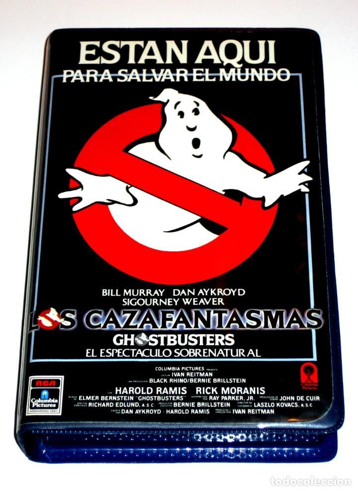 LOS CAZAFANTASMAS (1984) - IVAN REITMAN BILL MURRAY DAN AYKROYD HAROLD RAMIS VHS 1ª EDICION (Cine - Películas - VHS)