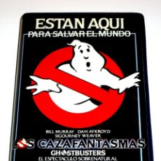 Cine: LOS CAZAFANTASMAS (1984) - IVAN REITMAN BILL MURRAY DAN AYKROYD HAROLD RAMIS VHS 1ª EDICION. Lote 186463997