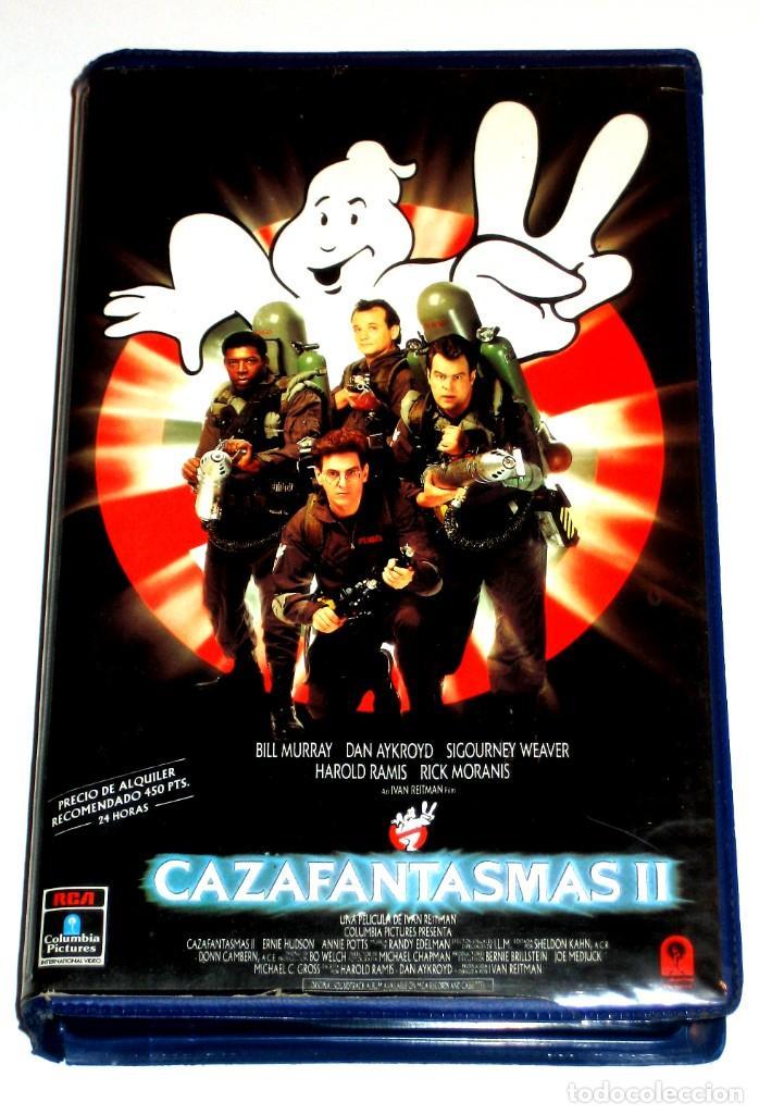 CAZAFANTASMAS 2 (1989) - IVAN REITMAN BILL MURRAY DAN AYKROYD HAROLD RAMIS VHS 1ª EDICION (Cine - Películas - VHS)