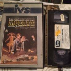 Cine: LA CALLE DE LA MUERTE BRADFORD DILLMAN DENVER PYLE DAVID BIRNEY HARVEY HART VHS. Lote 187128090