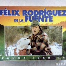 Cine: FAUNA IBERICA/FELIX RODRIGUEZ DE LA FUENTE/MALETIN CON 18 VHS.. Lote 187203846