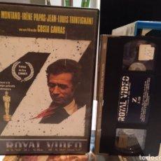 Cine: Z - YVES MONTAND- COSTA GAVRAS- VHS- POLAR VIOLENTO. Lote 187212673
