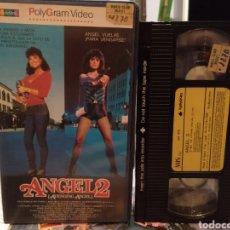 Cine: ANGEL 2 (1985) - ROBERT VINCENT O'NEILL BETSY RUSSELL RORY CALHOUN SUSAN TYRRELL OSSIE DAVIS VHS. Lote 187218078