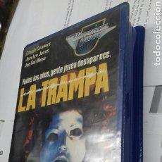 Cine: LA TRAMPA. CHUCK CONNORS.1984. TERROR. Lote 187609168