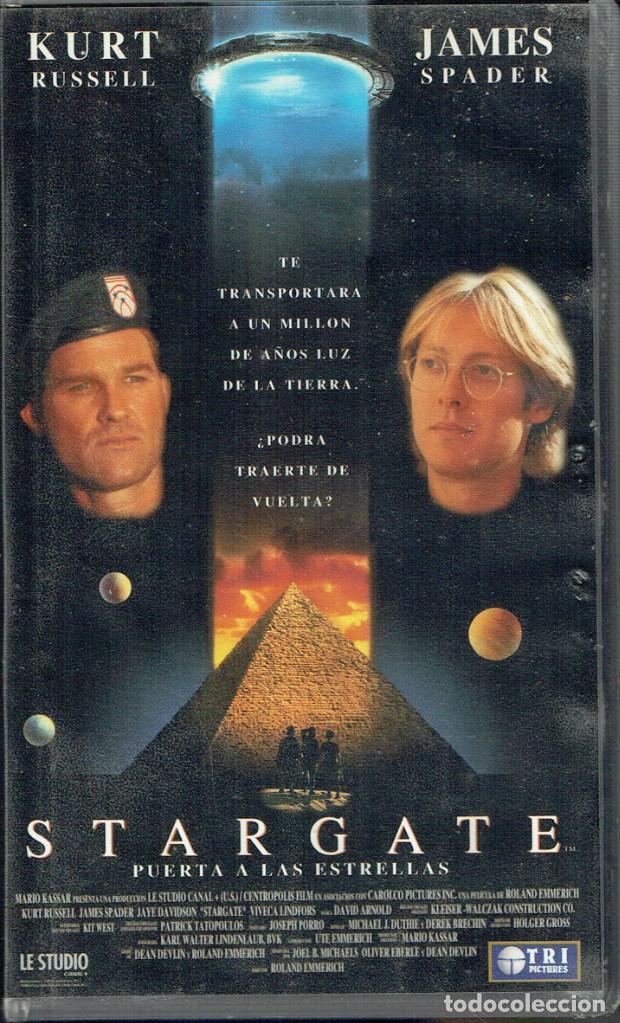 Stargate Puerta A Las Estrellas Buy Vhs Movies At Todocoleccion 187614440