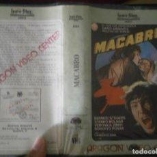 Cine: MACABRO,,1 EDICCION¡¡. Lote 188125737