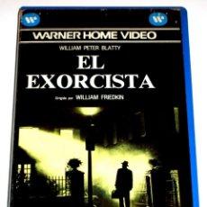 Cine: EL EXORCISTA (1973) - WILLIAM FRIEDKIN JASON MILLER MAX VON SYDOW LINDA BLAIR VHS 1ª EDICION. Lote 188439690