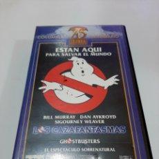 Cine: LOS CAZAFANTASMAS VHS - BILL MURRAY - DAN AYKROYD - SYGOURNEY WEAVER. Lote 188499691