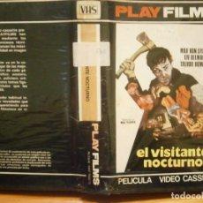 Cine: EL VISITANTE NOCTURNO¡¡1 EDICCION ¡¡VHS¡RRAREZA¡¡CAJA GRANDE¡¡¡VHS¡¡. Lote 188588466