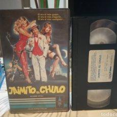 Cine: JAIMITO EL CHULO (1982) - MARINO GIROLAMI ALVARO VITALI ADRIANA RUSSO VHS. Lote 188750743