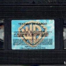 Cine: TESTIGO DE CARGO. Lote 189099737