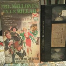 Cine: VHS - MIL MILLONES EN UN BILLAR - JEAN SEBERG, ELSA MARTINELLI. Lote 189128038