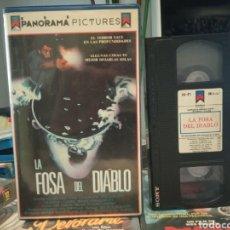 Cine: VHS - LA FOSA DEL DIABLO - WAYNE CRAWFORD Y JUNE CHADWICK. Lote 189167036