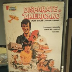 Cine: VHS - DISPARATE AMERICANO - RON MASAK - CHERYL MILLER - ROSE MARIE. Lote 189172368