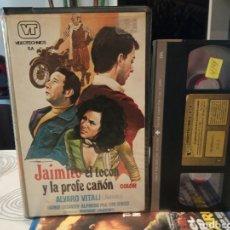 Cine: JAIMITO EL TOCON Y LA PROFE CAÑON (1976) - MARIANO LAURENTI ALVARO VITALI FEMI BENUSSI VHS. Lote 189202787