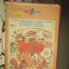 Cine: BUSCANDO A PERICO (1982) - ANTONIO DEL REAL LUIS ESCOBAR AGUSTIN GONZALEZ VHS NO EDITADA EN DVD. Lote 189222490