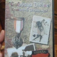 Cine: CRÓNICA DE LA DIVISIÓN AZUL. GALUBAYA DIVISIA. DOCUMENTAL 2001. Lote 189245302