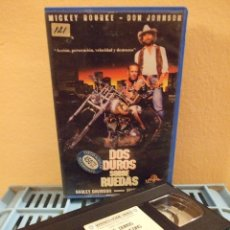 Cine: DOS DUROS SOBRE RUEDAS - SIMON WINCER - MICKEY ROURKE , DON JOHNSON - MGM 1992. Lote 244624050